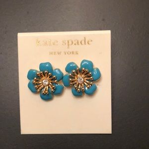 Kate Spade flower earrings
